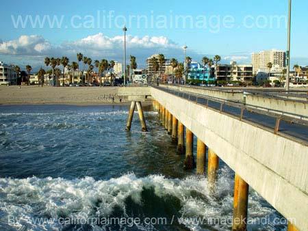 California Photography Venice Pier Photo
