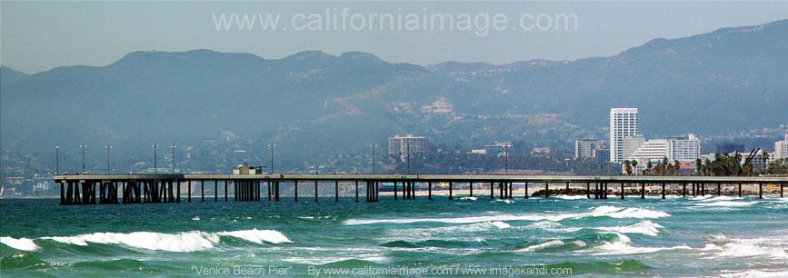 Venice Beach Pier Panorama
